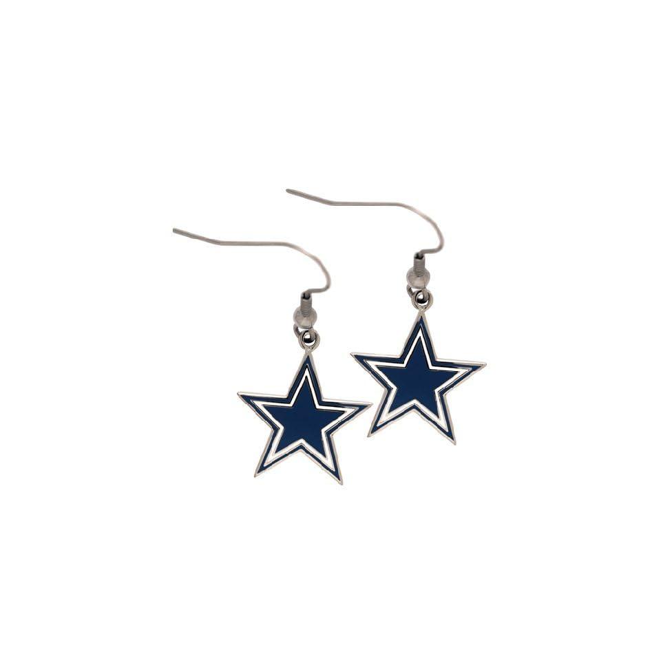 Dallas Cowboys NFL Star Logo Earrings
