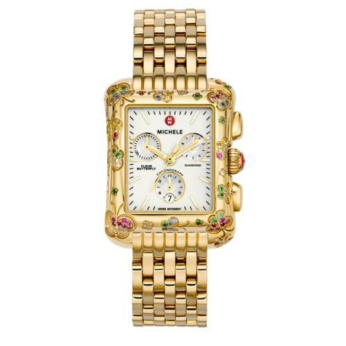 Amazon.com: Michele Fleur Butterfly Diamond Ladies Watch MWW04A000134