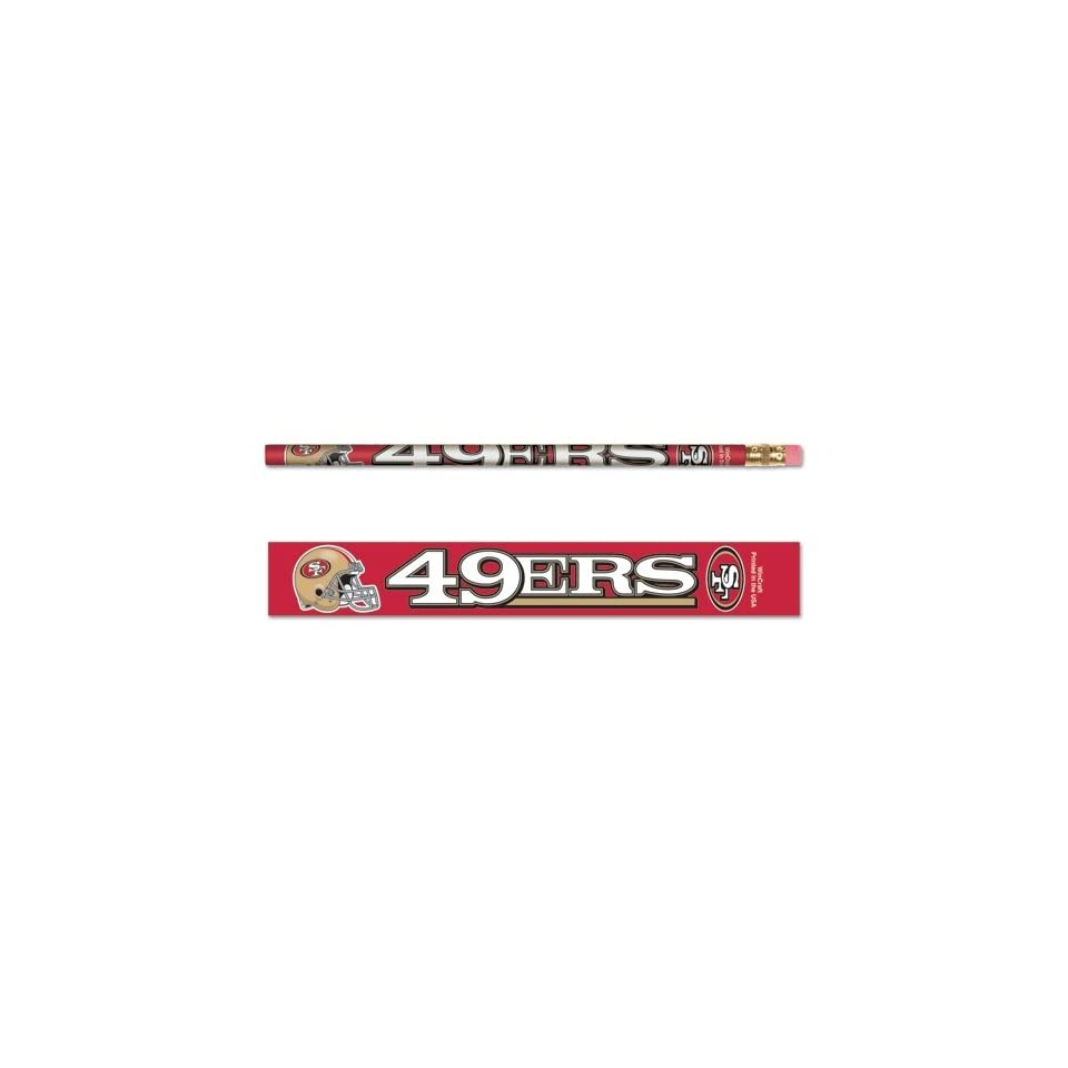NFL San Francisco 49ers 15576091 Pencil (6 Pack)