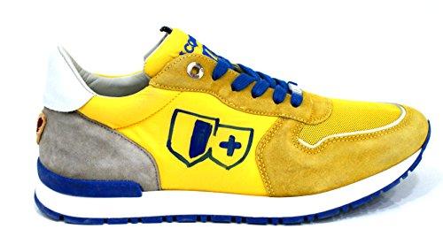 D'acquasparta Sneaker Uomo Botticelli Fatta a Mano Wash Yellow-39