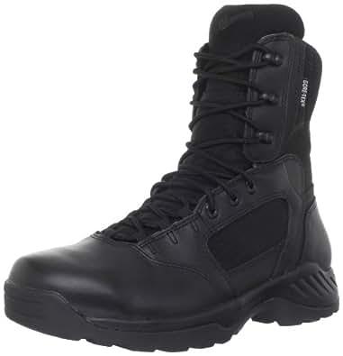 """Danner Men's Kinetic 8"""" Side Zip GTX Work Boot,Black,6 D US"""