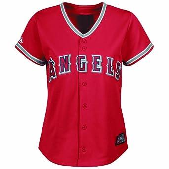 MLB Los Angeles Angels Albert Pujols Alternate Baseball Jersey Ladies by Majestic