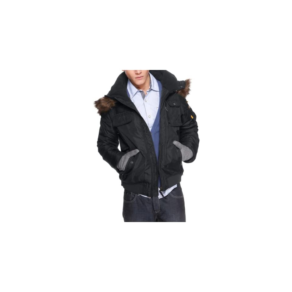 oliver Fellkapuze S Qs By Jacke Mit Fit Regular Herren f7v6Ybgy