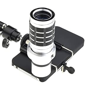 12x Zoom Manual Focus Lens Hd Telephoto Lens Set for Iphone 4 4s