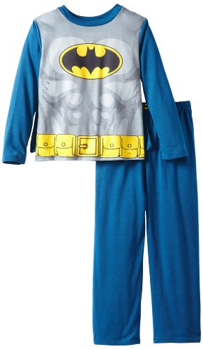Komar Kids Little Boys' Batman Costume Sleep Set with Cape