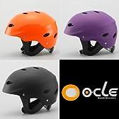 【205】クライミング&ウォータースポーツヘルメット耐水仕様 (マットブラック, L/XL(55~61cm)成人男性)