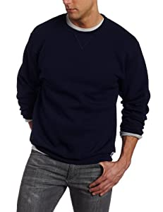 Russell Athletic Men's Dri Power Fleece Crewneck Sweatshirt, New Navy, Large