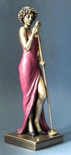 Jazz-Musik-Skulptur-Sngerin-Kollektion-Le-Monde-du-Jazz