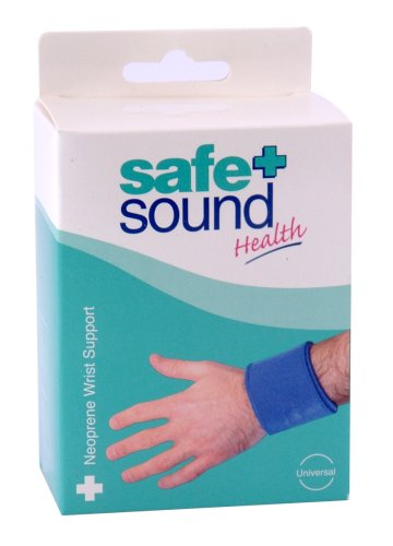 Safe & Sound Neoprene Wrist Support One Size Fits All