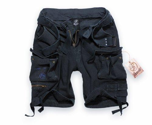 BRANDIT Pantaloni Bermuda uomo Cargo SAVAGE Short con Cintura (4XL)