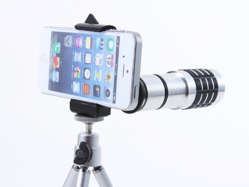 Mcpower Universal 12X Telephoto Zoom Lens For All Smart Phone Phone/Iphone 5/4/4S/Sumsang Galaxy S4/S3/Note2