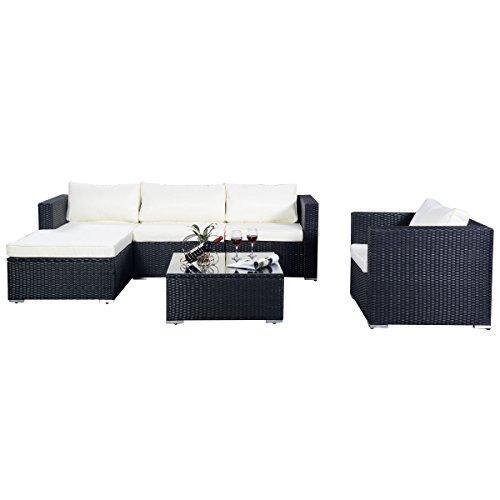 Poly-Ratten-Gartenmbel-15tlg-Sofa-Rattanmbel-Polyrattan-Lounge-Set-Sitzgruppe-Gartengarnitur-Sofa-Rattenmbel-Schwarz