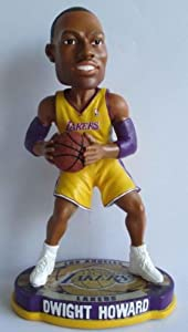 NBA Los Angeles Lakers Howard D. 2012 Home Basketball Base Bobble by Forever Collectibles