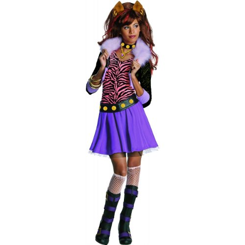 Clawdeen Wolf Costume - Small