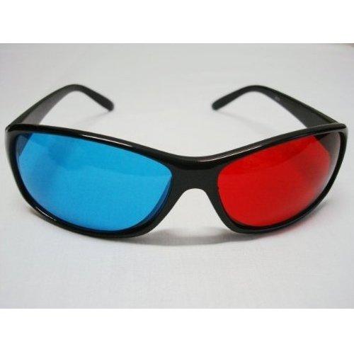 Bagaspatil melu sodial tm occhiali 3d semplice rosso blu for Programma 3d semplice