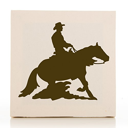 Sweet Potato Happy Trails Wall Art, Cowboy