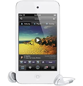 Apple iPod touch 64 GB White (4th Generation) (Discontinued by Manufacturer)