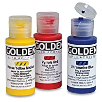 Golden Fluid Acrylics, 1 oz - Ultramarine Blue, 1 oz