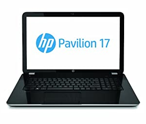 HP Pavilion 17-e079nr 17.3-Inch Laptop (Anodized Silver and Black)