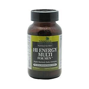 Futurebiotics Hi Energy Multi for Men Tabs, 120 ct