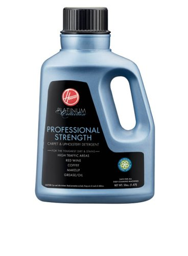 Hoover Platinum Collection Professional-Strength Carpet-and-Upholstery Detergent, 50 Ounces, AH30030