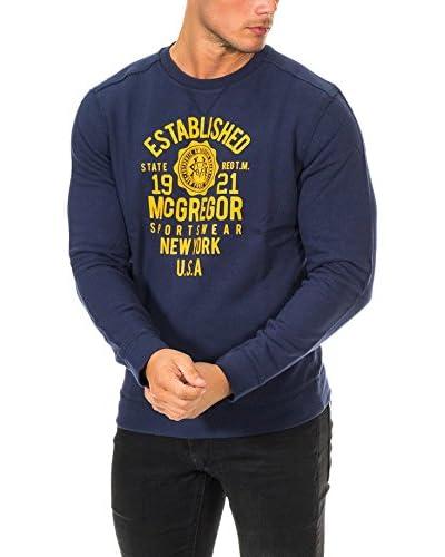 Mc Gregor Camiseta Manga Larga Azul