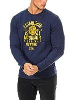 Mc Gregor Camiseta Manga Larga (Azul)