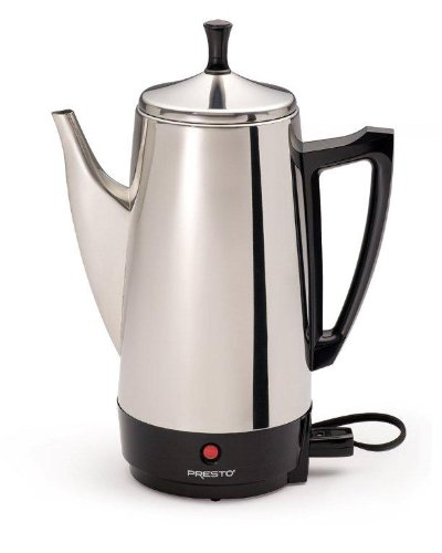 Presto 02811 12-Cup Stainless Steel Coffee Maker Patio furniture sale