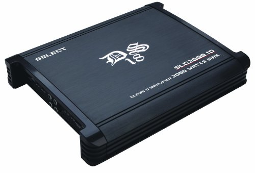 Ds18 Slc2000.1 Ds18 Select Slc-2000.1 2,000 Watts One (1) Channel/Monoblock Class D Amplifier With Bass Control - Set Of