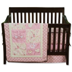 Trend Lab Rock Angel Baby Bedding