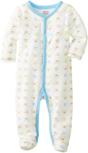 Calvin Klein Baby-Boys Newborn  Print Coverall