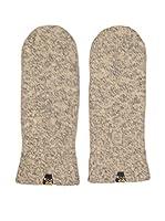 Salewa Guantes Walk Wool Mitt (Beige / Gris)