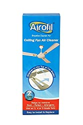 Airofil Ceiling Fan Room Air Cleaner helps to capture dust,pollen & allergens.