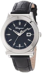 Salvatore Ferragamo Women's F63SBQ9909 S009 1898 Stainless-Steel Leather Watch by Salvatore Ferragamo