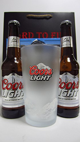 beer-lager-cider-coors-light-2-x-bottles-chilling-pint-glass-gift-set-hard-to-find-whisky-edition-wh