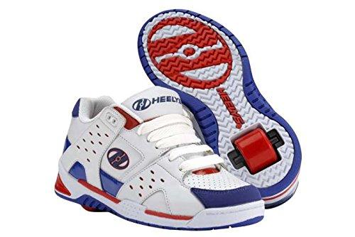Heelys Sportschuhe, Weiß / Blau / Rot UK13J / EU38