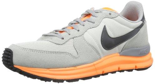 Nike Lunar Internationalist 631731-008 Herren Sneaker, Grau (Lt Base Grey/Dark Grey-Atomic Orange-Wl), EU 41 (US 8)