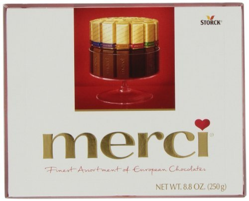 Merci European Chocolates, Assortment, 8.8-Ounce Boxes (Pack of 2) by Merci [Foods]