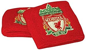 Liverpool Fc 2 Pack Wristbands - Red from Liverpool Fc