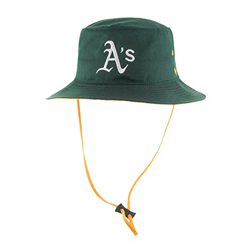 MLB Oakland Athletics Kirby Bucket Hat, One Size, Dark Green (Kirby Green compare prices)