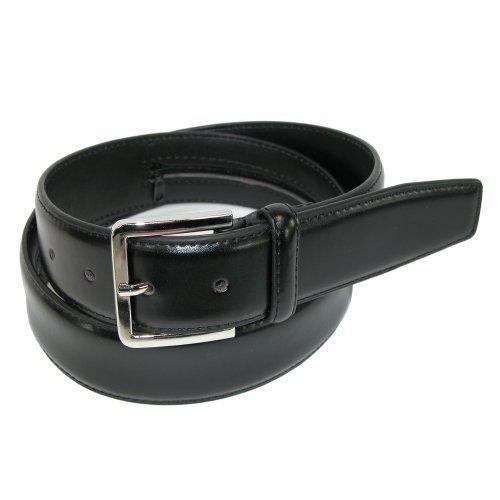 Belton USA Mens Leather Travel Money Belt, Size 34