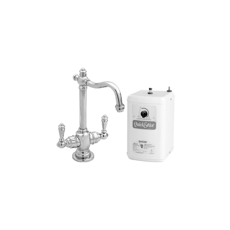 Westbrass D205 26/QHT 1 Pol Chrome Hot/Cold Faucet