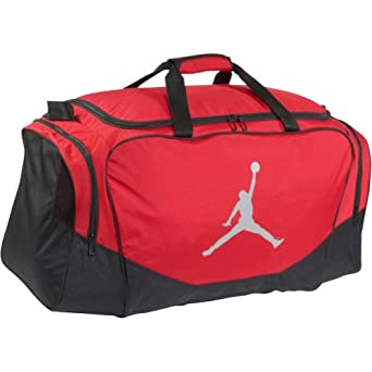 Amazon.com: Nike Jordan All Day Duffel (Gym Red/Matte Silver