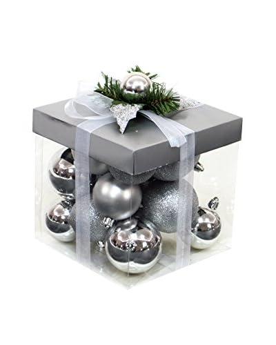 Decoracion Navideña Set Colgante decorativo 18 Uds. Árbol Navidad