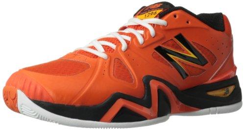 888098148954 - New Balance Men's MC1296 Stability Tennis Tennis Shoe,Orange/Black,11 2E US carousel main 0