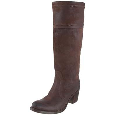FRYE Women's Jane 14L Boot, Dark Brown, 5.5 M US