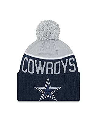 Men's Dallas Cowboys NFL New Era On Field Sport Knit Hat