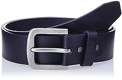 Covo Black Leather Men's Casual Belt (BJ40PA40132)