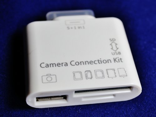 5+1 CAMERA CONNECTION KIT FOR APPLE IPAD 1ST 