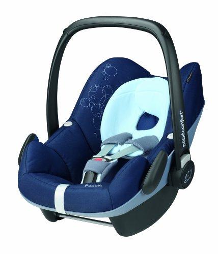 Bébé Confort Pebble Seggiolino Auto, Gruppo0+/1 (0-13kg), Colore Dress Blue